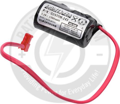 Lithonia Lighting Emergency Light Battery: Emergency Lighting Battery For Lithonia CM-1085 Nickel
