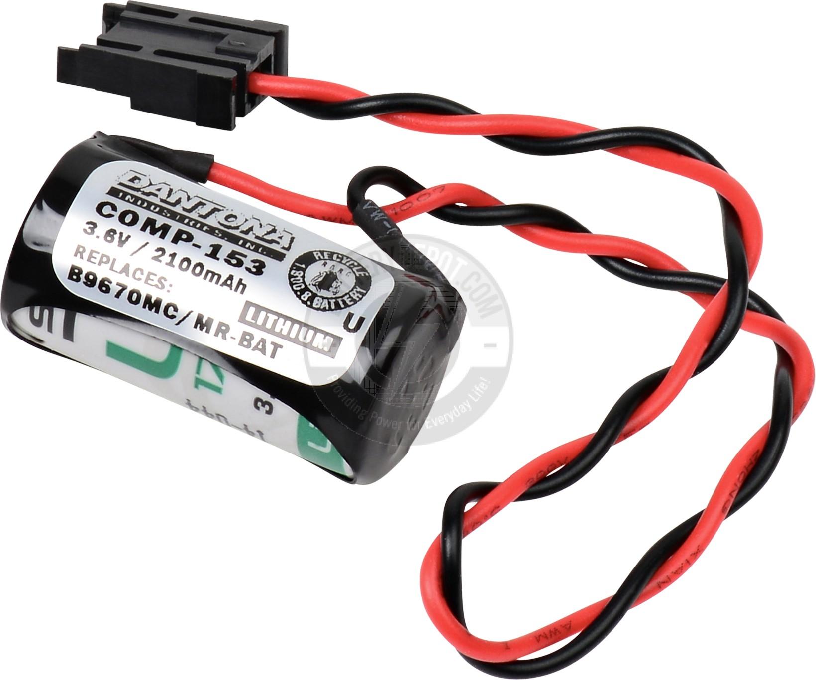 3.6v PLC Battery for Hitachi & Mitsubishi