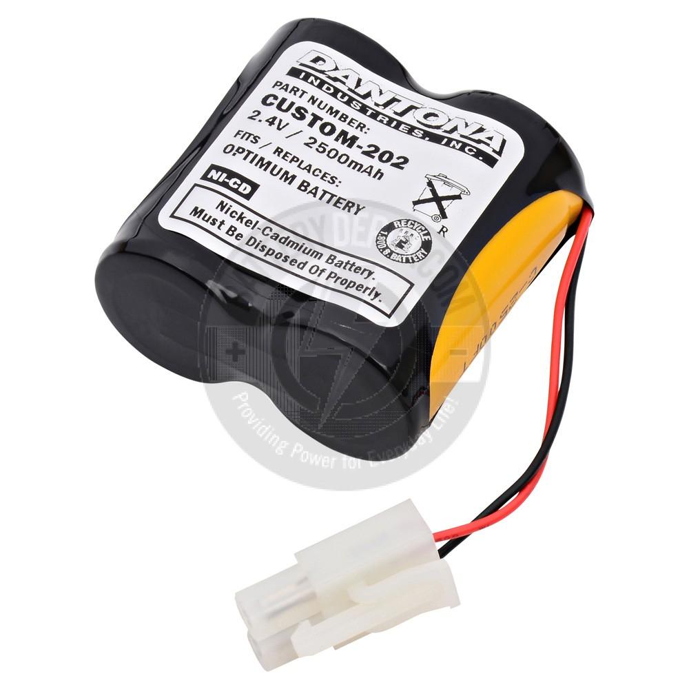 2.4V Solar Light Optimum Battery NI-CD C2500mAh Battery for Solar Lights