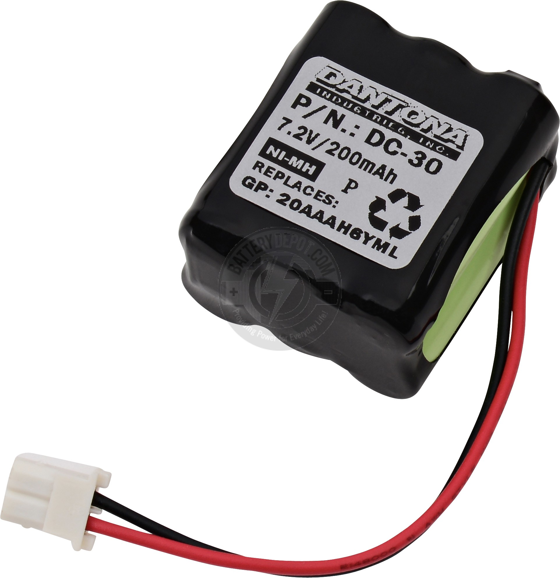 Dog Collar Battery for DT Systems
