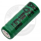 Rechargeable 2/3AAA flat top battery