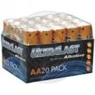 UltraLast AA battery, 20 pack