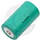 Rechargeable D battery
