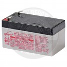 12v 1.2Ah Sealed Lead Acid Battery with F1 Terminals