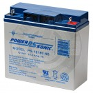Powersonic 12v 18Ah Sealed Lead Acid Battery with Nut & Bolt Connectors
