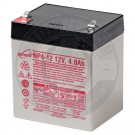12v 4Ah Sealed Lead Acid Battery with F1 Terminals