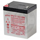 12v 5Ah Sealed Lead Acid Battery with F1 Terminals