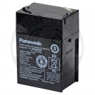Panasonic 6v 4.5Ah Sealed Lead Acid Battery with F1 Terminals