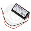 11.1v 2600mAh Lithium Pack, with 3 cells