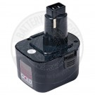 12v Power Tool Battery for Black & Decker and Dewalt