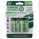 Ultralast Ni-Mh AA, 4 Pack