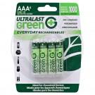 Ultralast Ni-Mh AAA, 4 Pack