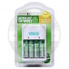 Ultralast Green AA/AAA/9V charger