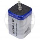 UltraLast heavy duty 6v spring top lantern battery